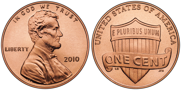 Lincoln Penny since 2010